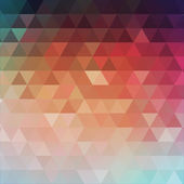 Abstract triangular background. Vector illustration — Stock Vector