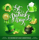 St. Patrick's Day Set — Stock Vector