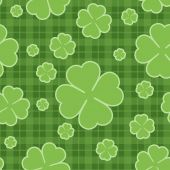 St. Patrick's day seamless pattern — Stock Vector