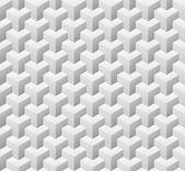 Cubic seamless pattern. Vector illustration — Stock Vector
