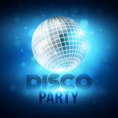 Disco party. Vector illustration — Stock Vector