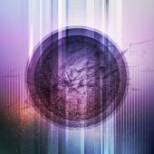 Circular futuristic background. Vector illustration — 图库矢量图片
