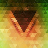 Abstract triangle future vector background — 图库矢量图片