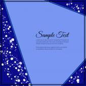 Elegant vector lettering in abstract style with place for text. Perfect for invitations, greeting cards, save the date. — Stock Vector