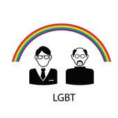 Lgbt gay — Stok Vektör