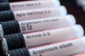 Arnica homeopathy — Stock Photo