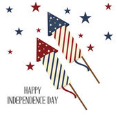 4 th of July. — Stock Vector