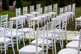 Beautiful wedding set up — Stock Photo