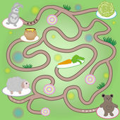 Maze for children — Stock Vector