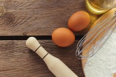 Ingredients and items for backing  — Stock Photo