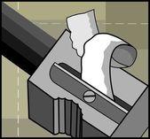 Pencil sharpener — Stock Vector