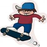 Skateboard flyer — Stock Vector #67420843