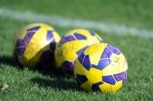 Football training ground — Stock Photo