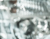 Abstract defocused background with circular blurry bokeh — Stock Photo