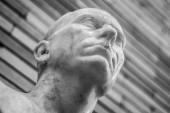 Bust detail National Museum of Roman Art in Merida — Stock Photo