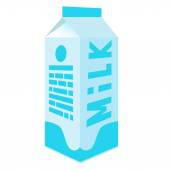 Milk pack — Stock Vector