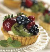 Torta de frutas — Foto Stock