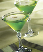 Martini de manzana — Foto de Stock