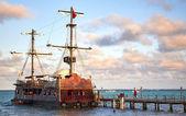 O navio — Fotografia Stock