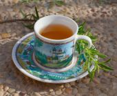 Rosemary tea. — Stock Photo