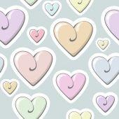 Wzór serce valentine. — Wektor stockowy