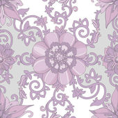 Beautiful elegant floral design — Stock Vector