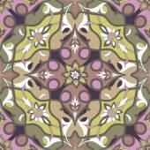 Amazing dramatic ornamental pattern — Stock Vector