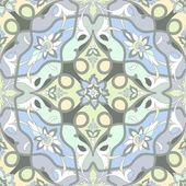 Amazing pastel ornamental pattern — Stock Vector