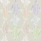 Seamless pattern. Winding thin crisp — Stock Vector