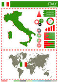 Vector Italy illustration country nation national culture concep — Stock Vector