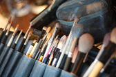 Make up artist work professional occupation art — Stock Photo