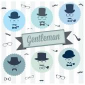 Gentleman — Stock Vector