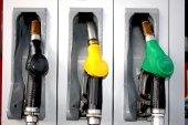 Petrol, diesel, heating oil tank pump — Stock Photo