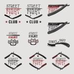 Постер, плакат: Street fight straight razor