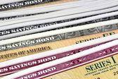 United States Savings Bonds — Stock Photo