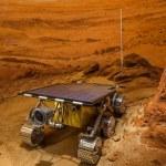 Постер, плакат: The mars rover