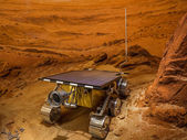 The mars rover — Stock Photo