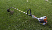 Gasoline Powered String Trimmer — Stock Photo
