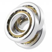 Realistic angled bearing with small scratches — Stock Photo