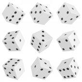 Set of dice — Stock Photo
