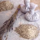 Aromatic medical herbs — Stok fotoğraf