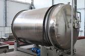 Wine fermentation tankWinery companyThe oldest wine farmwine pro — Stock Photo