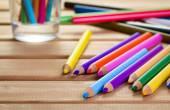 Conjunto de lápis — Fotografia Stock
