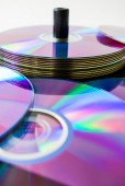 The discs full of colors — Stock Photo