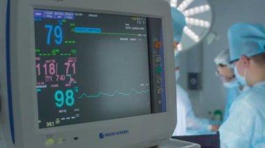 Heart monitor 01 HD — 图库视频影像