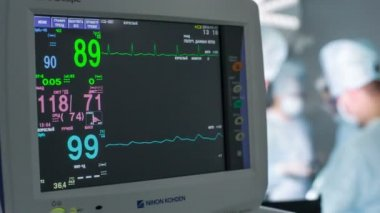 Heart monitor 05 HD — Stock Video