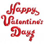 Day Valentine greeting decorative vector — Stock Vector