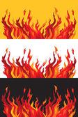 Fire vector illustration — Stock Vector