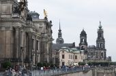 Streets of Dresden — Stock Photo