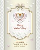 Happy mother's day card — Stockvector